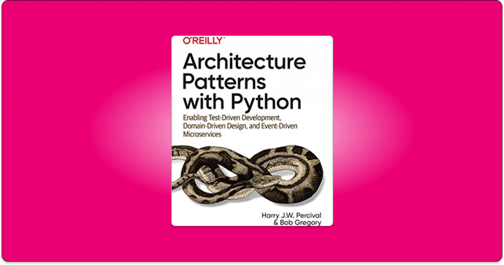architecture patterns with python free pdf